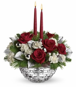 Sparkle of Christmas Centerpiece Centerpiece