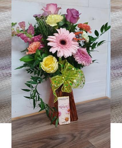 Sparkle of love Vase arrangement