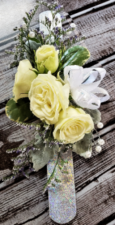 Sparkle of My Eyes Corsage
