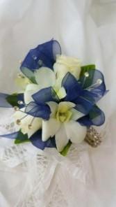Sparkle Orchid Corsage