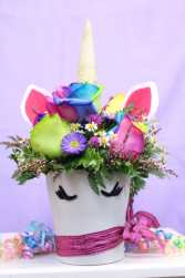 Sparkle Party Unicorn  Arrangement