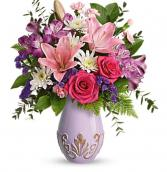 Sparkle & Shine Bouquet  Vase