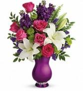 Sparkle & Shine Vase (Teleflora design)