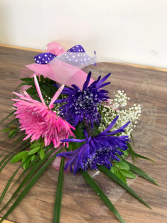 Sparkling fujis Wrapped bouquet