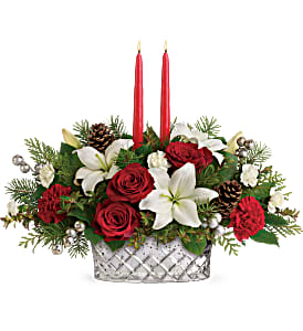 Sparkling Season Centerpiece