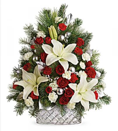 Sparkling Silver Tree  Christmas Tree