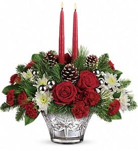 Sparkling Star Centerpiece  in Clinton, AR   Main Street Florist & Gifts