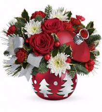 Sparkling Winter Wonderland Christmas Arrangement