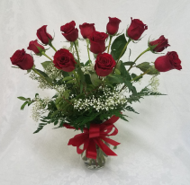 SPECAIL, RED ROSES ARRANGED, $49.99 Roses