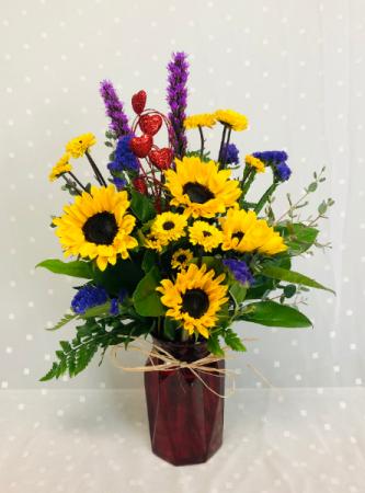 Sunflower Special Fresh Bouquet