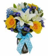 special delivery floral arrangement