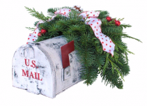 Special Delivery Holiday Centerpiece