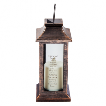 """""""Special people never leave us"""" Solar Lantern"""