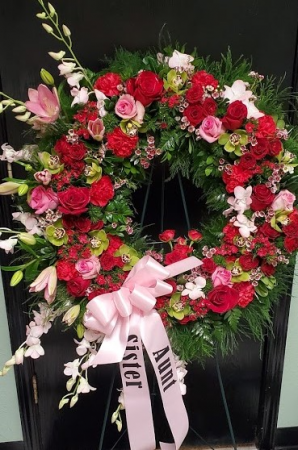Special Tribute wreath