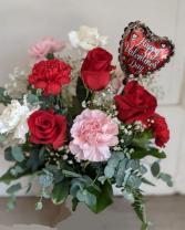 Special Valentine Fresh Arrangement