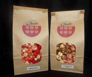 Special Valentine's Popcorn Chris's Kettle Corn in Osage, IA | Osage Floral & Gifts
