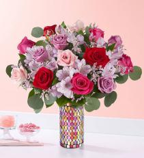 Luxurious Floral Vase