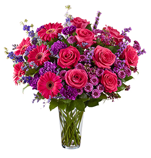 Spectacular Floral Vase Roses and Mixed Floral's