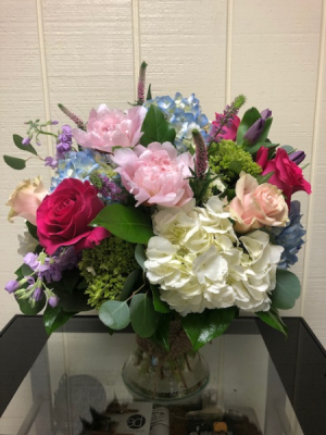 Spectacular Spring Vase Arrangement in Fairfield, CT | Blossoms at Dailey's Flower Shop