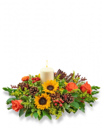 Spectacular Season Centerpiece Flower Arrangement