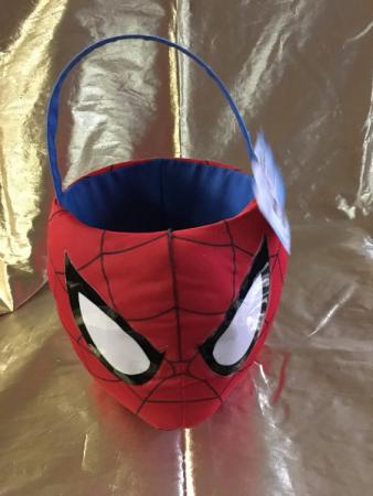 spiderman basket basket
