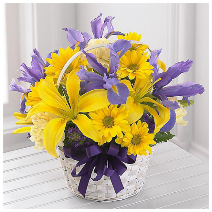 Spirit of Spring Basket Arrangement