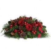 Spirit of the Season Christmas Centerpiece