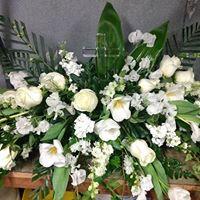 SPIRITUAL DEVOTION CASKET FLOWER