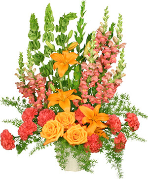 SPIRITUAL SPLENDOR Flower Arrangement in Macon, GA | PETALS, FLOWERS & MORE