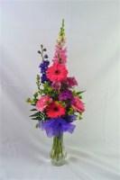 Splash of Color Vase Arrangement