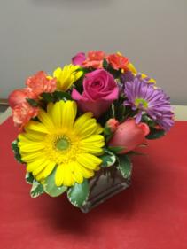 Splash of colour Floral arrangement