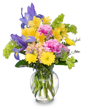 SPLASH OF SPRING Flowers in a Vase in Burns, OR | 4B Nursery And Floral