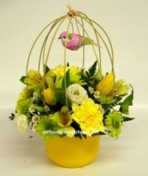 Splash of Sunshine Table center With mixed colours