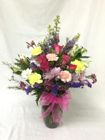 Splended Spring Fresh arrangement