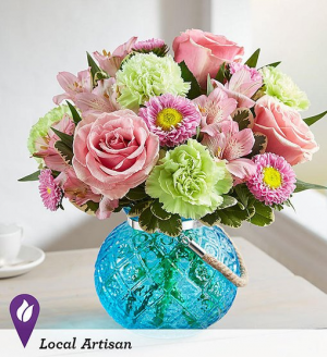 Splendid and Sweet In Moroccan Inspired Glass Globe in Gainesville, FL | PRANGE'S FLORIST