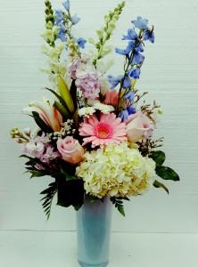 Splendid Garden Bouquet Spring Vase Arrangement in Jacksonville, FL | TURNER ACE FLORIST