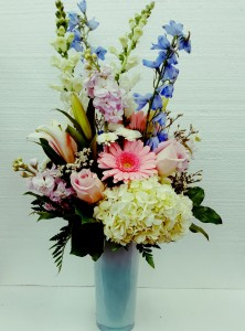 Splendid Garden Bouquet Spring Vase Arrangement
