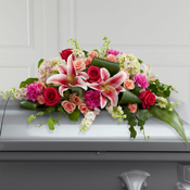 Splendid Grace Casket Spray Casket Spray