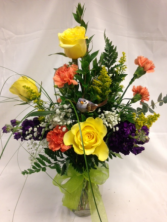 Splendid Summer Bouquet Fresh Flower Arrangement