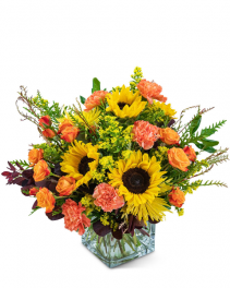 Splendid Sunflowers Flower Arrangement