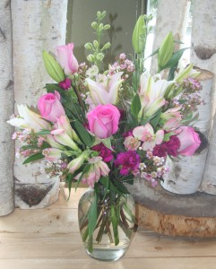Splendid Surprise vase arrangement in North Adams, MA | MOUNT WILLIAMS GREENHOUSES INC
