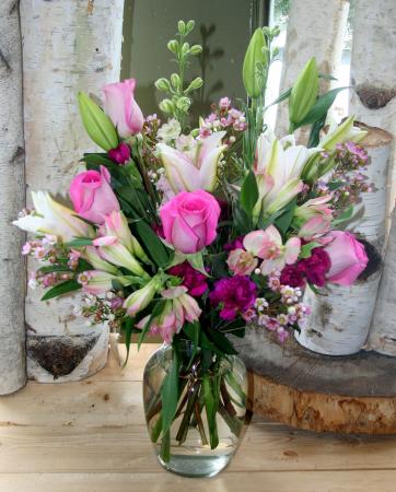 Splendid Surprise vase arrangement