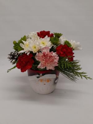 Splendor of Santa Christmas in East Templeton, MA   Valley Florist & Greenhouse