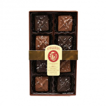 SPOKANDY   8 PIECE SEA SALT CARAMELS