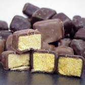 Sponge Candy 1/2 lb Milk Chocolate Sponge Candy