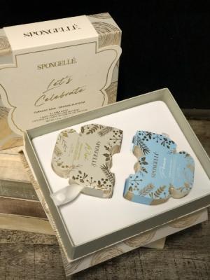 Spongelli Let's Celebrate Wish & Peace Gift Set French Mimosa & Sugar & Sea Salt in Key West, FL | Petals & Vines