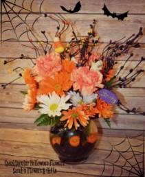 Spooktacular Halloween Ivy Bowl