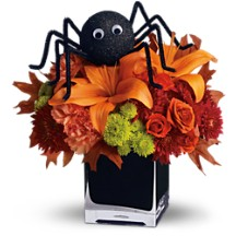 Spooky Boo-quet Holiday Floral in Whitesboro, NY | KOWALSKI FLOWERS INC.