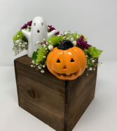 Spooky Pair Tea Light Candle Holder Arrangements