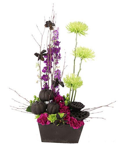 Spooky Spectacular Halloween Flowers